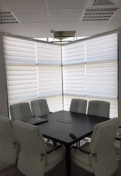 Electric Roller Shades For Fillmore Office